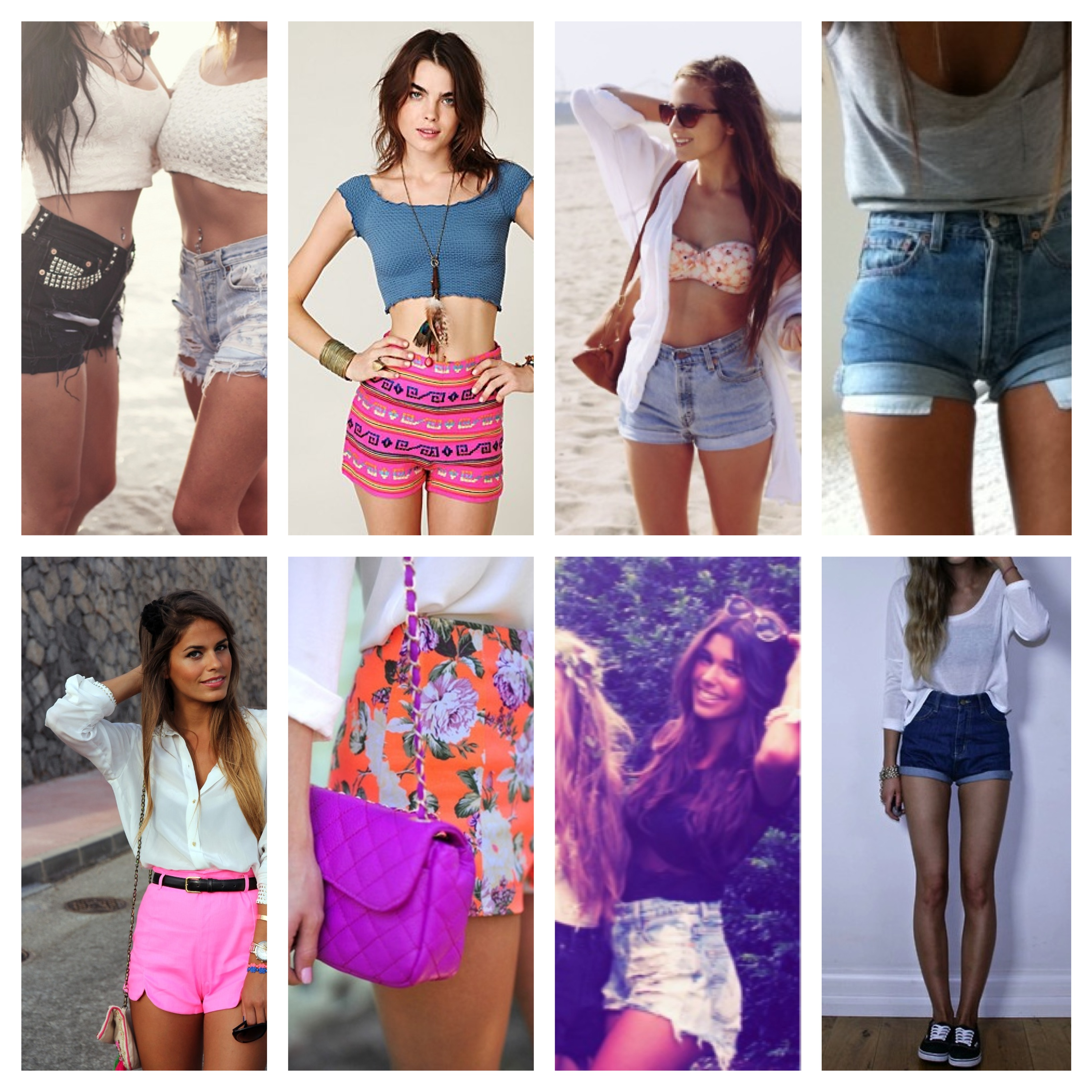 High Waisted Shorts are a Girl's Best Friend | TheFashionGirl